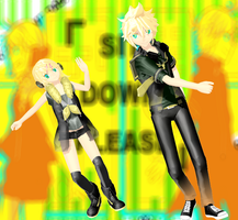 MMD ReMoTe CoNtRoL Rin and Len by RinXNeruXD
