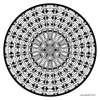 Mandala drawing 41 by Mandala-Jim