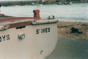 St Ives Boat by amygowenlock