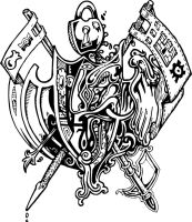 Family Crest VECTOR by artofsoul