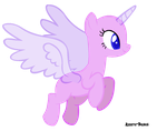 MLP Base #32: Flying pone by iJessiePone