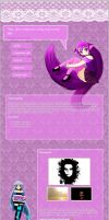 MyC-Chan (commission journal CSS) by CypherVisor