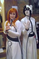 AAC 2011 Ulquiorra and Orihime by w3dOtOhAv3h3aRtS