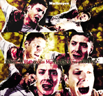 DeanInHell_Supernatural by magicrubbish