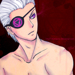 Hidan : Bad ass Jashin Eyepatch by blumarine