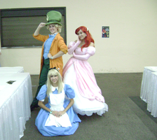 HAA-- Hatter Alice and Ariel by KowaretaYume