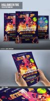Halloween Flyer Template PSD by ImperialFlyers