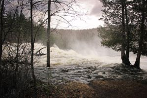 Monstrous Falls by HrWPhotography