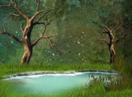 Nature Background 2 by mysticmorning