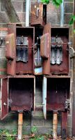 More Rusted Boxes by PAlisauskas