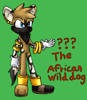 ??? The African wild dog by CleverConflict