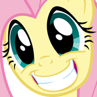 Fluttershy Smile by Lonely-Hunter