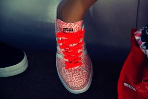 Fluor Adidas by LucyLoveColours