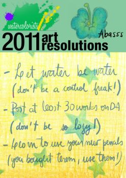 2011 resolutions by abasss