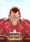 Iron Man 2 sketchcard 20 by SpiderGuile