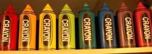 Crayons by AKAfred