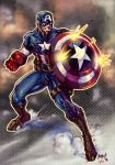 Ultimte Captain America COLOR by Jonboy007007