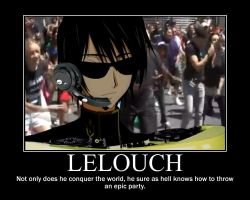 Lelouch, The Party King by brobertson18