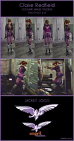 Claire Redfield costume Angel Studios [RE 2 - N64] by Vicky-Redfield