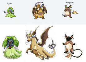 Pokefusions by Yanyanma