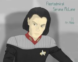 Michelle Forbes by No-one-o1