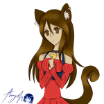 :prize: Neko Girl by Amy-Oh