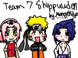 Team 7 sHIPPUUDEN CHIBIS by Uri-Loves-Cookies