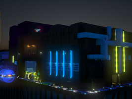 3D Work: The Outlander Club - nightfall by ionrayner