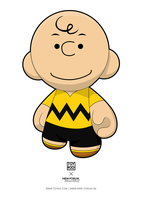 Charlie Brown Munny by nkunited