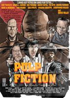 Pulp Fiction Poster... by Parpa