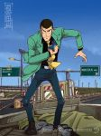 Handesigner lupin for Nocera comics 2014 by handesigner