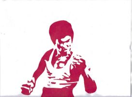 .Bruce.Lee.Red. by Naomi-Tsuka