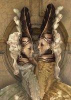 Bal du mask 7 Venice by babsartcreations