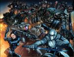 Tf V Gijoe Villians by kieranoats