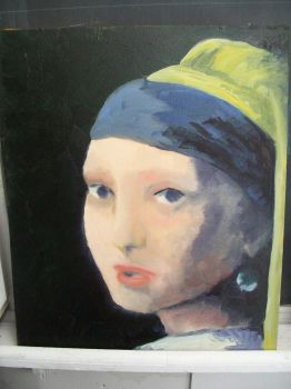 girl with a turban by inlovewithyourshadow