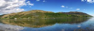 Loch Striven Panorama II by paddimir