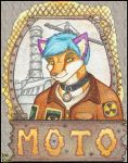 Deluxe Badge: Moto by Albino-Kitsune