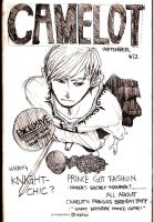 Monthly CAMELOT COVER by Hoichun