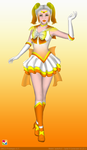 Sailor Candy Corn by CrystalSetsuna