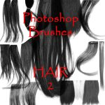 Photoshop HAIR Brushes - set 2 by vaia