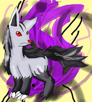 Mightyena (Readdescplz) by TaiyoPrower