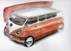 VW Minibus by MartinEDesign