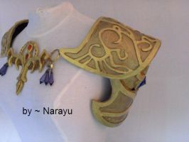 princess zelda armor cosplay by Narayu