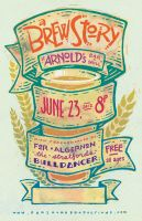 A Brew Story Poster by hooraylorraine
