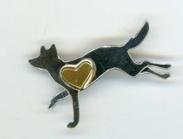 Jewelery+Smllmetals: Wolf 1 by EatingYourSpleen