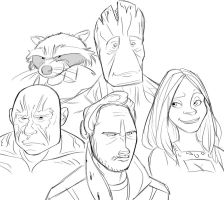 Guardians Of The Galaxy by SovereignSky