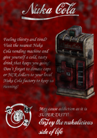 Nuka Cola poster by TheEndOfPain