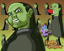 Video Game Villain - Lord Lardanum by Dudesoft