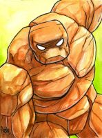 Sketchcard Power Stone Gun Rock Power Charge by fedde