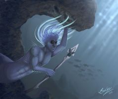 Surveying the Depths by JenniferEasley